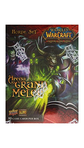 World of Warcraft TCG WoW Trading Card Game Arena Grand Melee Horde Set (Arena Warcraft)
