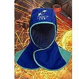 MonkeyJack Welding Helmet Protective Hood Welder Head Cover Torching Welder Hat Blue