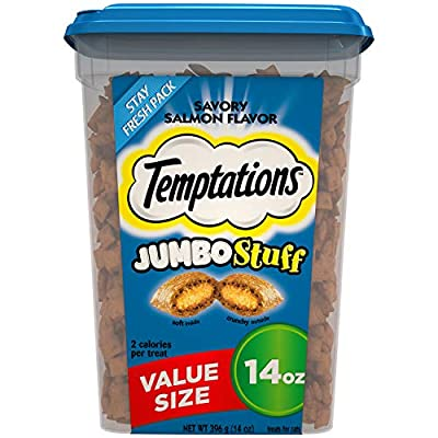 Cat Food Temptations Jumbo Stuff Cat Treats [tag]