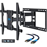 Mounting Dream MD2126-24 TV Wall Mount Bracket with Full Motion Articulating Arms for most 42-70'' LED, LCD, OLED and Flat screen TVs up to VESA 600 x 400mm and 100 lbs. Fits 16-24'' Wood Studs Apart