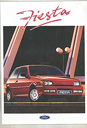 1991 Ford Fiesta European Brochure Dutch