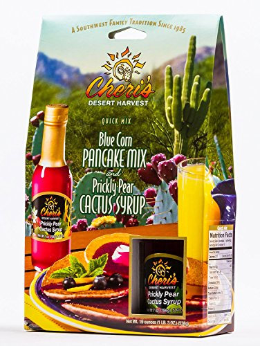 Cheri's Blue Corn Pancake Mix and Prickly Pear Cactus Syrup ()