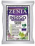 Zenia Indigo Powder (Indigofera Tinctoria) Hair / Beard Dye Color 100 grams