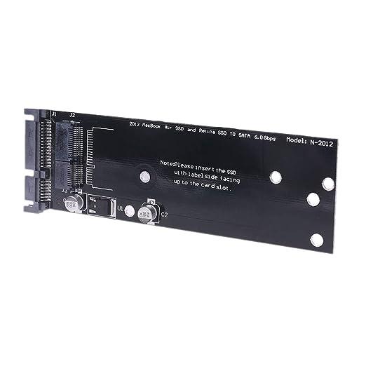 Liaobeiotry - Adaptador SSD a SATA para MacBook Air A1465 A1466 ...