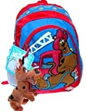 Scooby Doo Backpack Firefighter Scooby Bonus Scooby Doo 8 Inch Plush Coin Purse Keychain, Bags Central
