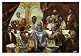 Last Supper Art Poster Print by Cornell Barnes, 38x27 by AllPosters US