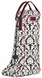 Equine Couture Damask Boot Bag, Hot Pink, Standard