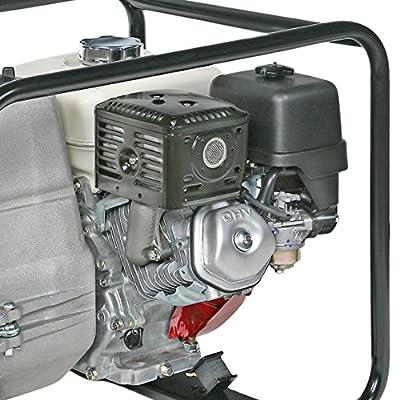 "Tsurumi EPT3-80HA; Engine Driven Trash Pump, 360 GPM, 3"" discharge, 8hp Honda engine w/low oil sensor"