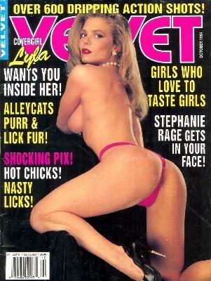 Velvet Magazine: October 1994 -- Porn Star Stephanie Rage