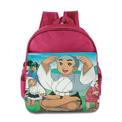 Smart Ikkyu San Kids School Backpack Bag Pink