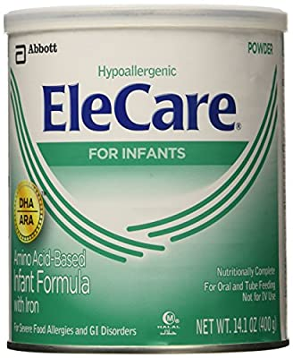 EleCare Baby Formula-Powder-14.1 Ounces-6 Pack by EleCare