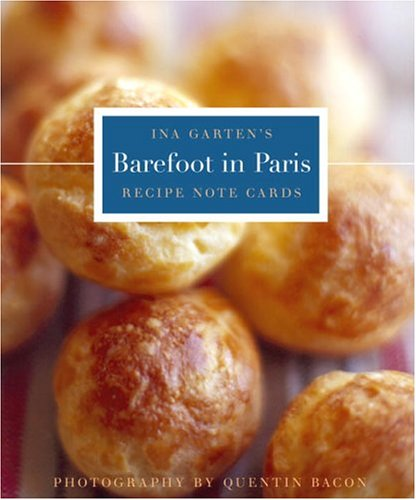 Barefoot in Paris Tri-Fold Recipe Note Cards pdf epub