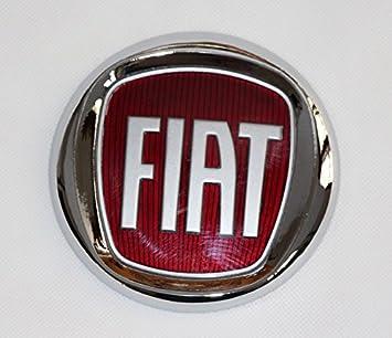 Fregio Escudo Logo Fiat 2007 adhesivo Ducato delantera 120 mm: Amazon.es: Coche y moto
