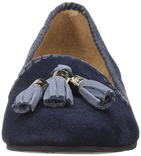 1716FF0002 Midnight Suede Women's Jack Rogers Flat qUwCE