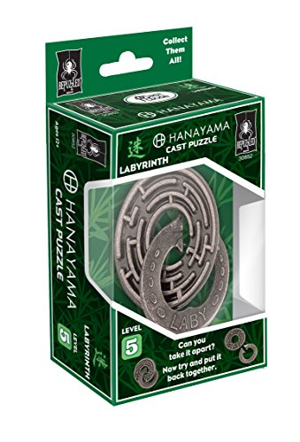 LABYRINTH Hanayama Cast Metal Brain Teaser Puzzle