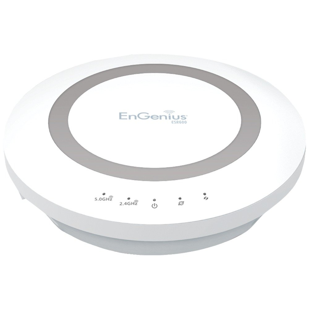 ENGENIUS ESR600 Dual-Band Wireless N600 Xtra Range(TM) Router with Gigabit, USB & EnShare(TM) Computers, Electronics, Office Supplies, Computing