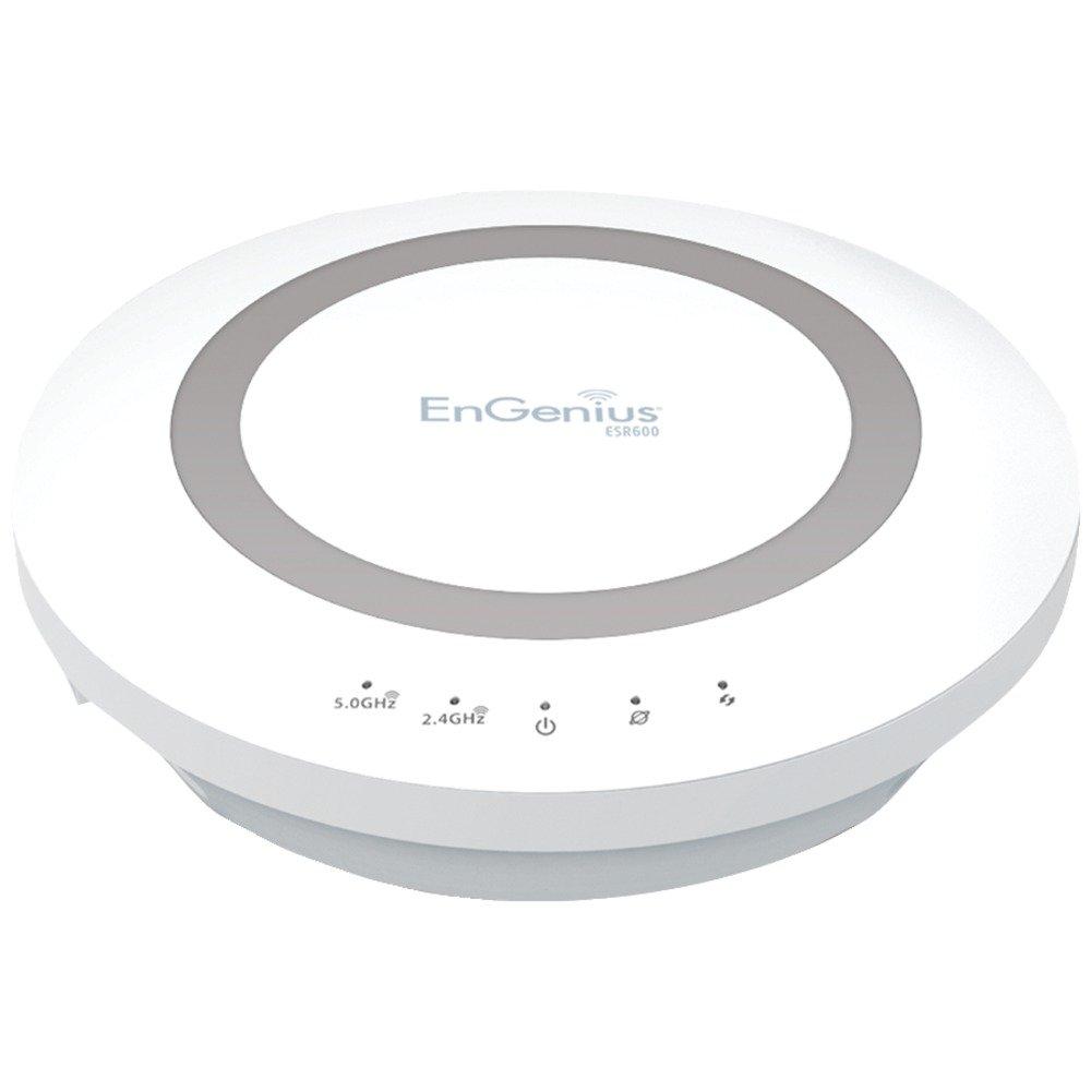 ENGENIUS ESR600 Dual-Band Wireless N600 Xtra Range(TM) Router with Gigabit, USB & EnShare(TM) Computers, Electronics, Office Supplies, Computing by EnGenius