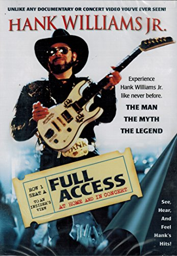 Hank Williams, Jr.: Full Access - At Home and In Concert by Echo Bridge