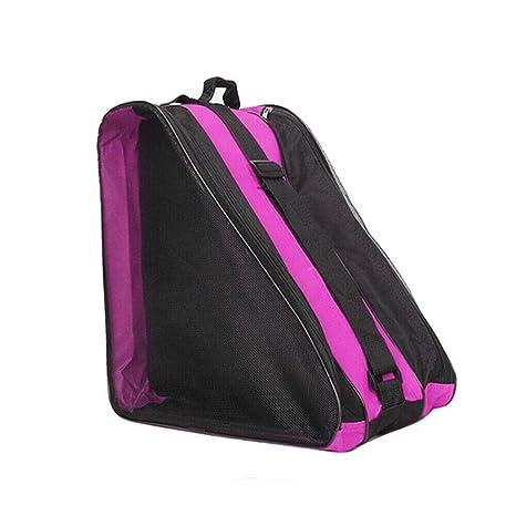 para ni/ños y adultos rosa Bolsa de almacenamiento port/átil para patines o zapatos Cutowin