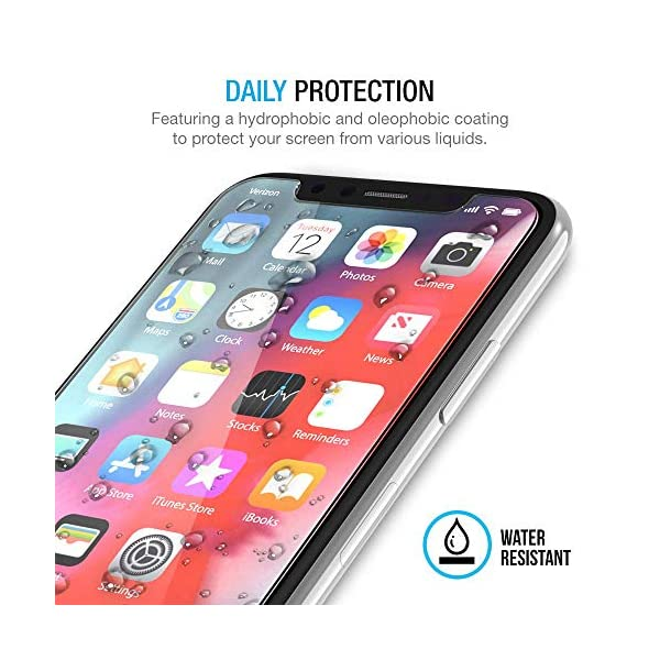 Maxboost-Screen-Protector-for-Apple-iPhone-Xs-iPhone-X-Clear-3-Packs-025mm-iPhone-XsX-Tempered-Glass-Screen-Protector-with-Advanced-Clarity-3D-Touch-Work-with-Most-Case-99-Touch-Accurate