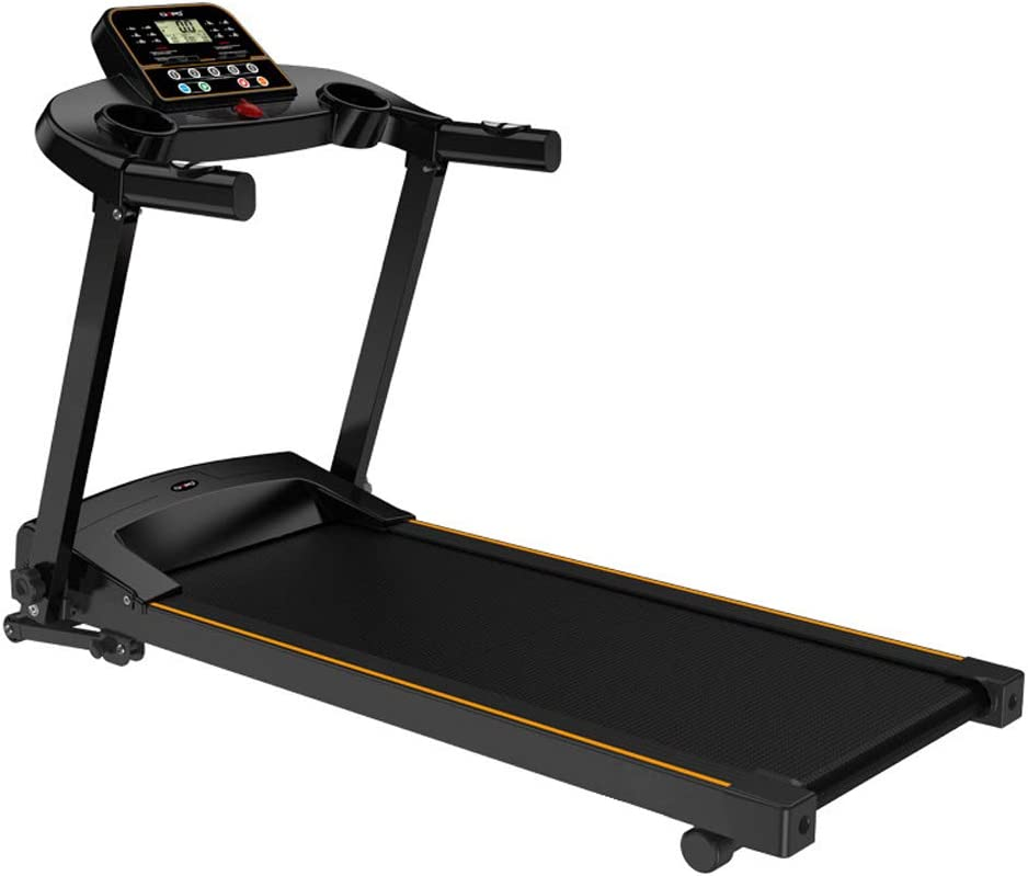 Folding Treadmill, Motorized Running Jogging Walking Machine for Home Office Use Gym Fitness Workout