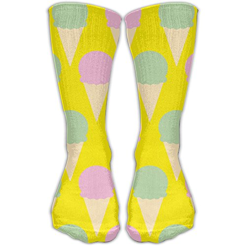 YUANSHAN Socks Fresh Ice Cream Women & Men Socks Soccer Sock Sport Tube Stockings Length 11.8Inch]()