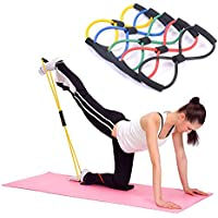 Kasstino 4PCS Useful Fitness Equipment Tube Workout...
