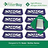 8 - Neato XV 21 Filters. Designed FilterBuy to fit Neato XV Series Robot Vacuums