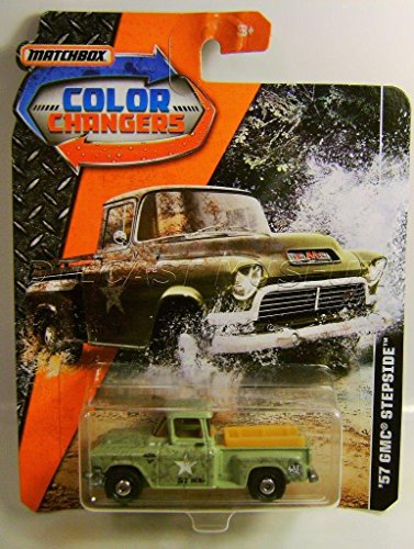 1957 '57 GMC STEPSIDE PICKUP TRUCK COLOR CHANGERS MATCHBOX DIECAST 2017