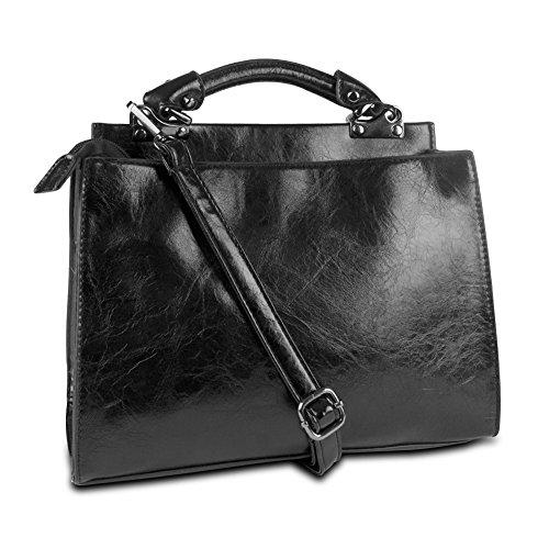 NEW Mad Style Convertible Handbag, Black