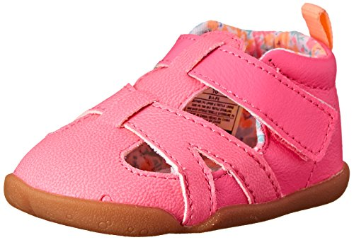 Stage 3 Sandal - Carter's Every Step Bia Stage 2 Stand Walking Sandal (Infant/Toddler), Neon Pink, 3 M US Infant