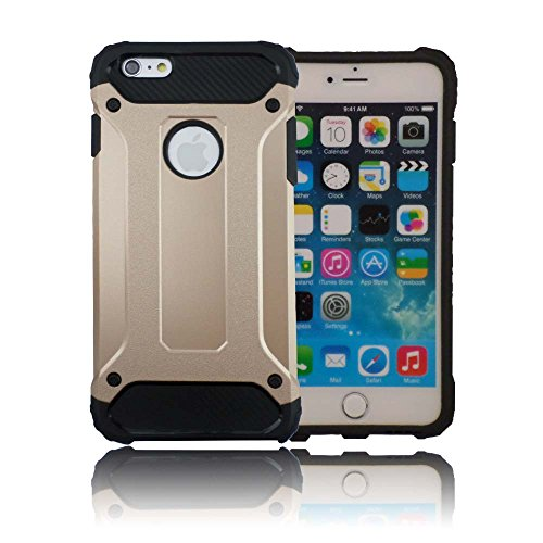 TCD for Apple iPhone 5 5SE New Ultra [Gold] Protective Durable Case Lifetime WARANTY [Hard/Soft Combo] Thin Good Grip [Free Screen Protector Stylus]