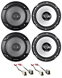 "Best Kenwood Car Door Speakers - Kenwood Front+Rear Door 6.5"" Speaker Replacement For 1993-07 Review"