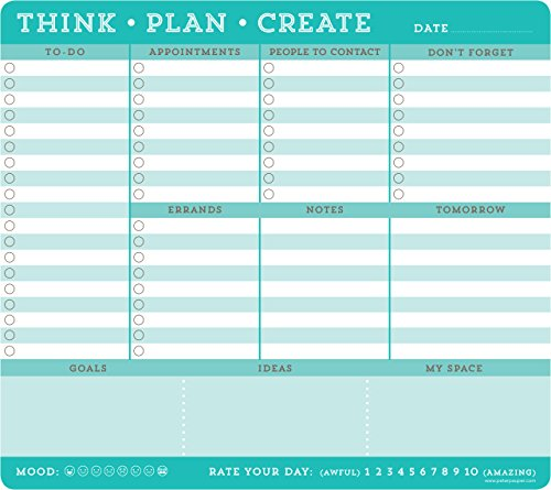 Price comparison product image Think · Plan · Create Notepad - Mousepad (60 sheets)