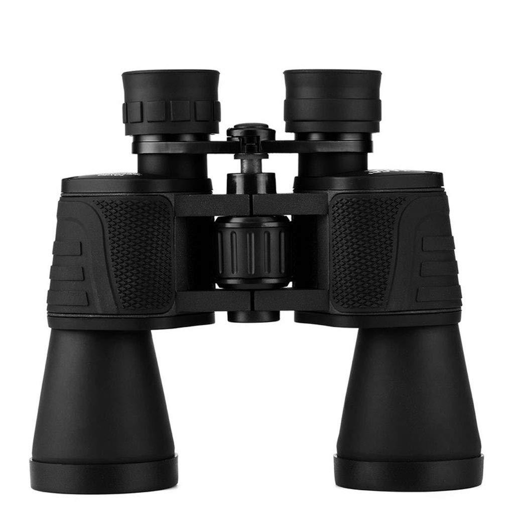 今季一番 屋外での狩猟、ハイキング、冒険、鑑賞、10Xメタル(ブラック)用の低照度ナイトビジョンを備えたHDハイパワーオプティカルポータブル10x50望遠鏡 B07M7WV356 B07M7WV356, 那須町:5ecba738 --- a0267596.xsph.ru