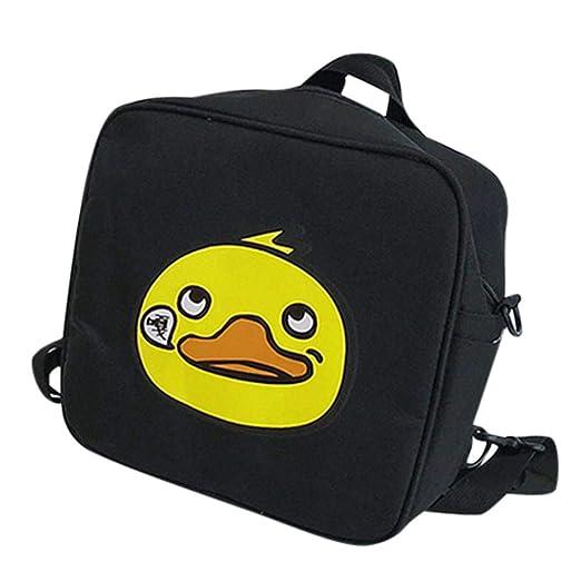 Kids Cute Cartoon Duck Animal Crossbody Bag Student Canvas Backpack School  Bag for Toddler 5e62e59e5bd0a