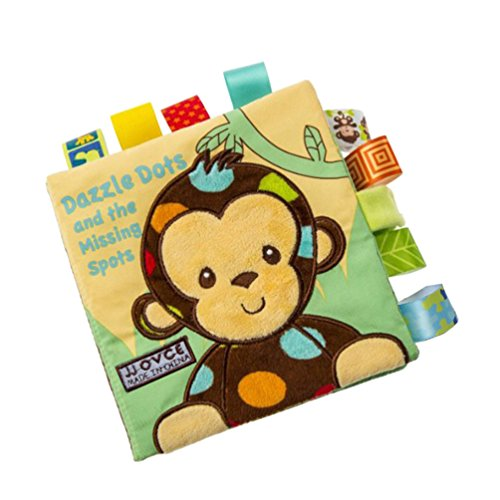[Baby Toys Cloth Books Learning Education Unfolding Activity Books Animal Style (monkey)] (Car Costume Cardboard Box)