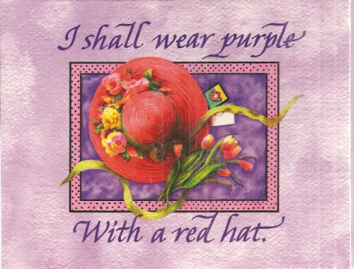 I Shall Wear Purple Boxed Notes (12 Note Cards and Envelopes)