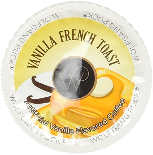 Wolfgang Puck Vanilla French Toast Coffee Cups, 24 Count