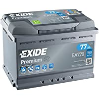 Exide Premium starting battery EA770 77 Ah