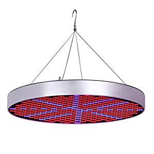 EAUOH LED Grow Lights, 50W Red and Blue Spectrum Plant Lamp for Hydroponics,Organic Plants in Indoor gardening,Greenhouse from Seeds Starting,germination,Flowering and Harvest