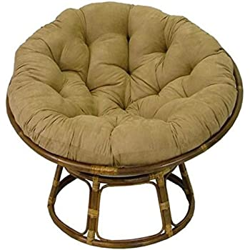Delicieux Rattan Papasan Chair With Cushion