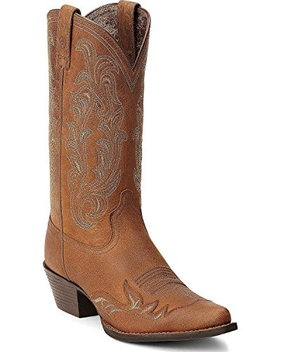 Ariat-Womens-Heritage-Western-Wingtip-Cowgirl-Boot-Pointed-Toe