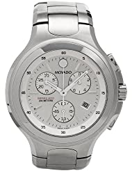 Movado Mens 2600037 Series 800 Performance Stainless-Steel Chronograph Watch