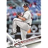 2017 Topps Series 2 #573 Bartolo Colon Atlanta Braves Baseball Card