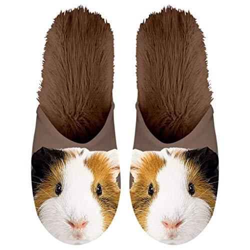 Cobaya De Marrón Ropa Gifts Plenty Felpa Calzado Zapatillas Animal 10Hnq7Zw