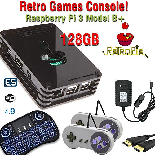 - Raspberry Pi 3 Model B+ (B Plus) based retropie retro games emulation system - 32GB edition