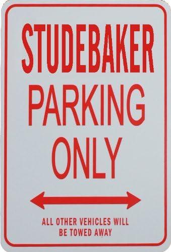 STUDEBAKER PARKING ONLY Miniature Fun Parking Sign