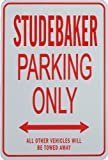 STUDEBAKER Parking Only - Mini Parking Signs ideal for the Motoring enthusiast