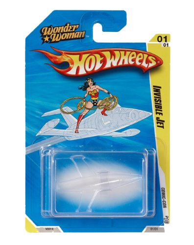 Hot Wheels SDCC 2010 Wonder Woman Invisible Jet Vehicle